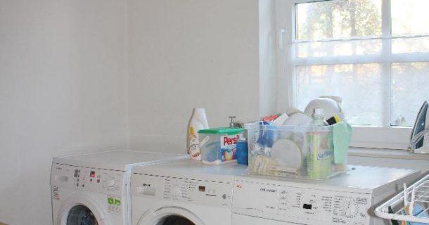 separater Waschraum