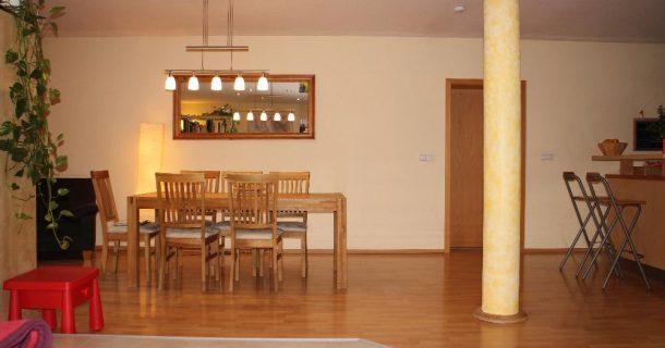 Essbereich m. offener Küche