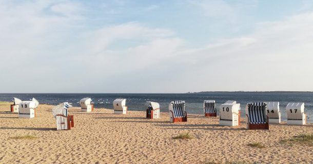 der einsame Strand