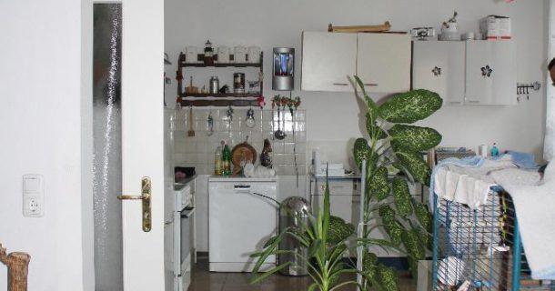 ...mit offener Küche